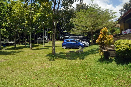 Bukidnon Province, Filippinerna: The parking area is perfect