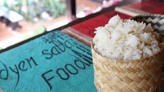 Dyen Sabai Restaurant: sticky rice