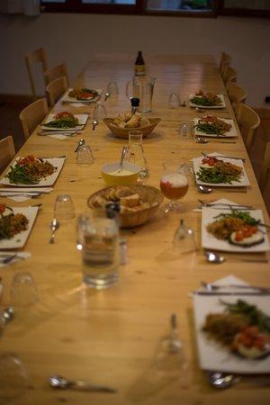 Auris, França: klaar voor het avondeten
