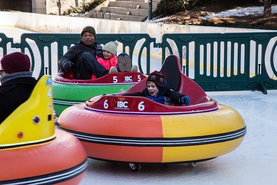 Providence, RI: Ice Bumper Cars