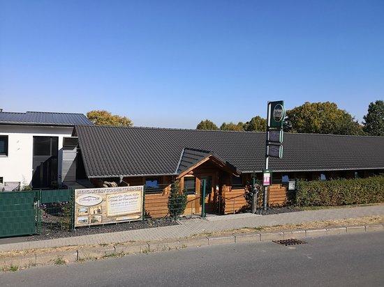 Vitalis Saunalandschaft, Butzbach - Eingang