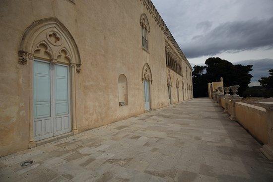 Donnafugata, Italy: un angolo del castello