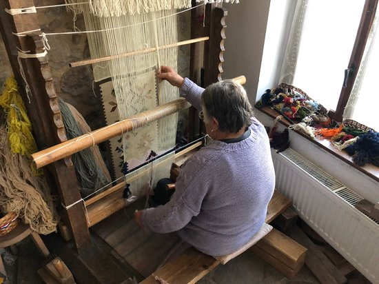 Montana, Bulgaria: Carpet weaving