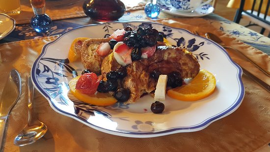 Notre-Dame-du-Portage, แคนาดา: Breakfast