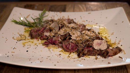 Monteleone d'Orvieto, Italia: Tagliata tartufo