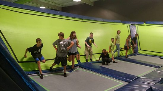 JumpShot Indoor Trampolines and Paintball