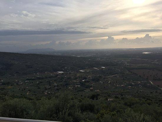 Sonnino, Ιταλία: Panorama dalla terrazza