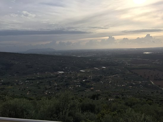 Sonnino, إيطاليا: Panorama dalla terrazza