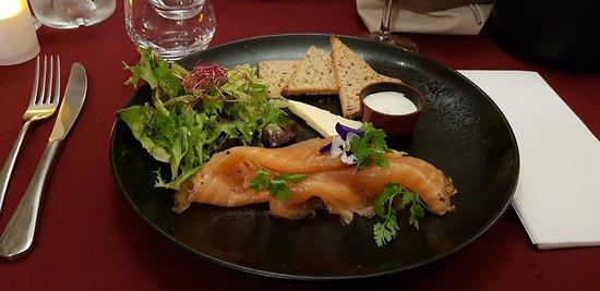la terrine de foie gras photo de auberge le poivre d 39 ane. Black Bedroom Furniture Sets. Home Design Ideas