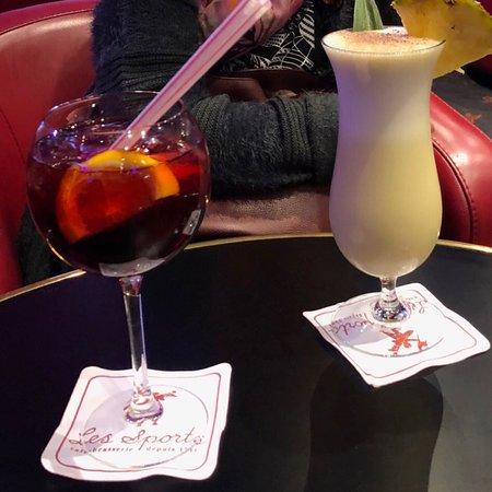 Des cocktails genereux