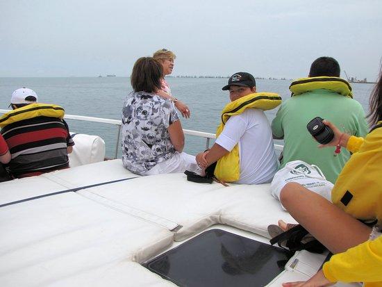 Islas Palomino: El viaje de regreso tan estimulante como el de ida