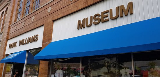 Hank Williams Museum: museum entrance