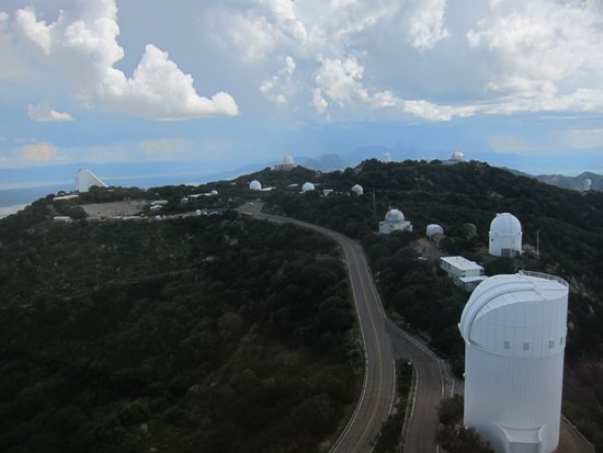 Sells, AZ: View of telescope landscape