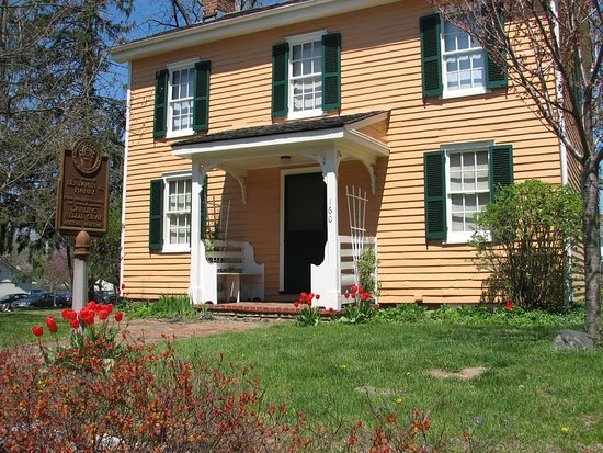 Westerville, OH: You can learn about the Underground Railroad at Hanby House.