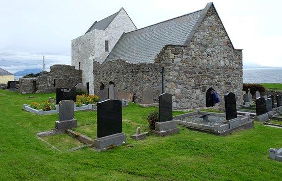Clare Island, Ireland: clare abbey