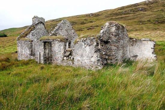 Clare Island, Ireland: house ruin