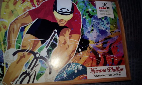National Cycling Centre: Njisane Phillips