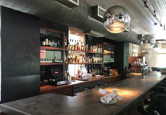Lamberts Downtown Barbecue: Upstairs bar