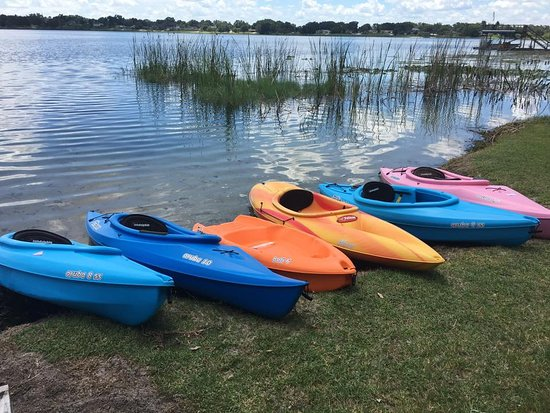 Drop off and pick up kayak rentals in Winter Haven - Chain of Lakes