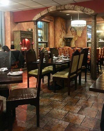 Inside The Restaurant Picture Of Indian Garden Restaurant