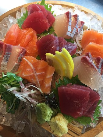 some of shochu is really good with sashimi! we can tell that!!