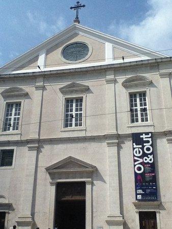 Igreja de São Roque: 入口付近