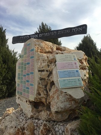 Sderot, Izrael: Names of Heroes
