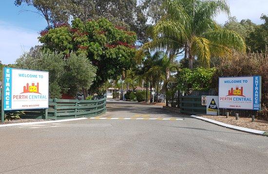 Ascot, Australia: Park Entrance