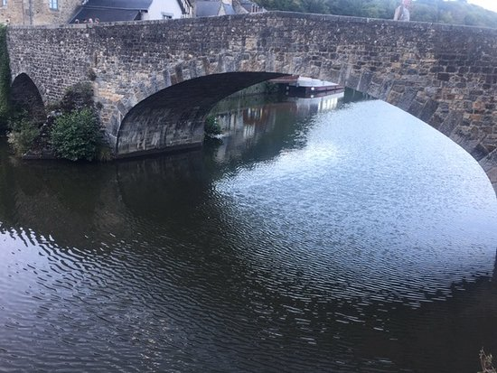 Cotes-d'Armor, Francja: Dinan Bridge over La Rance