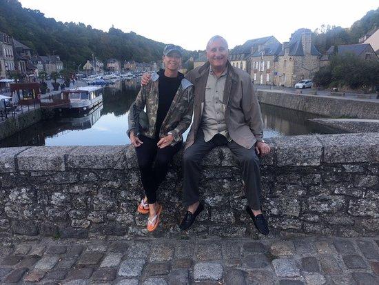 Cotes-d'Armor, France: Dinan Bridge