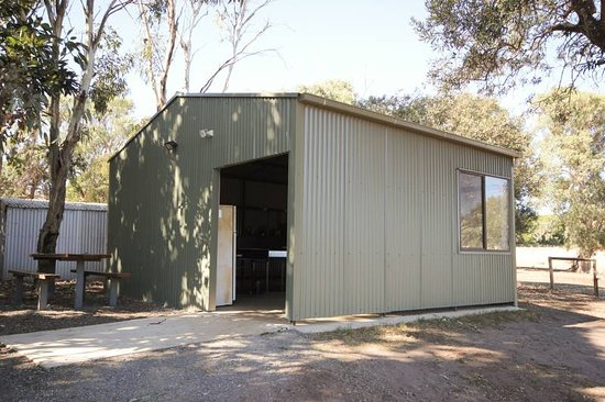Cape Jervis, Austrália: Camp Kitchen