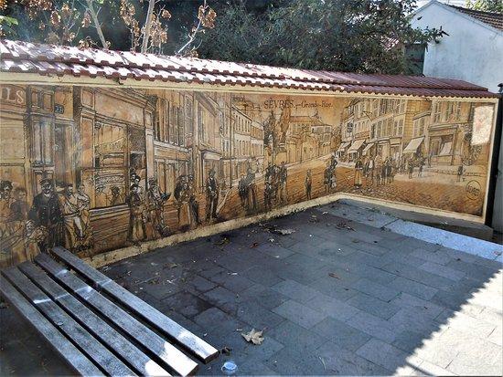 Fresque Grande Rue