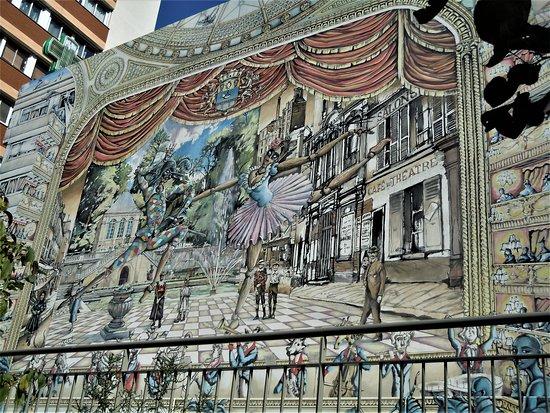 Fresque Théâtre de Sèvres