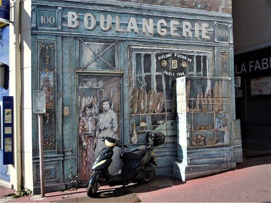 Fresque La Boulangerie