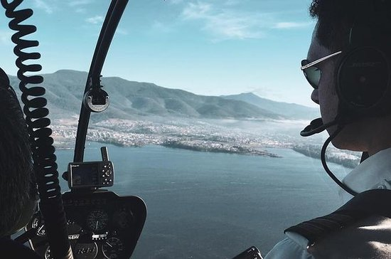Hobart in elicottero