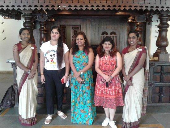 Kunjithanny, Ấn Độ: Happy guest Mrs Jawal Thomas.