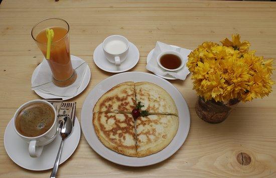 Pancake at yala cafe