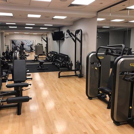Very good fitness facility