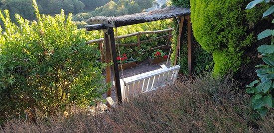 Boal, España: Jardín - Vistas al Bosque
