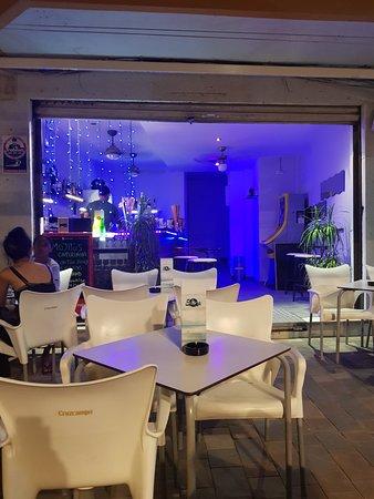 Calafell, Spain: Bar Cocteleria Saona
