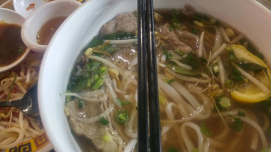The place to go when you crave pho.