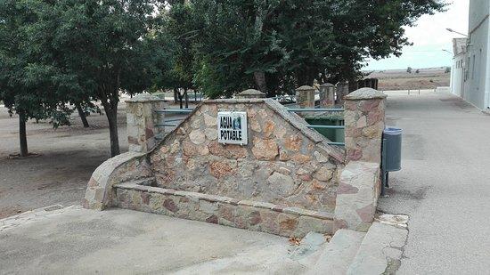 Santuario de Nuestra Senora de Belen: Fuentes de agua potable.