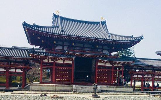 Byodoin Temple: 対称の美。美しい形です。