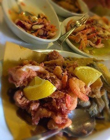 Montefiore dell'Aso, Italien: non solo carne...su prenotazione!