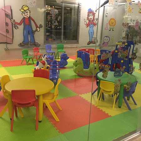Kids Play Area Picture Of Hangar66 Restaurant Abu Dhabi