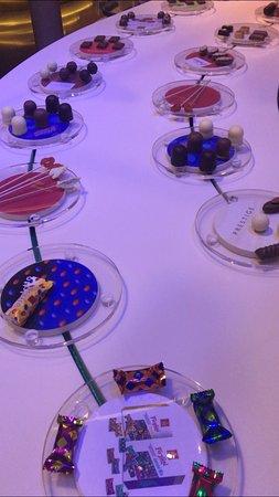 Buchs Aargau, Switzerland: Dégustation de chocolat