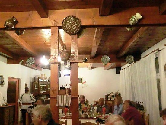 Sibiel, Румыния: Sala da pranzo.