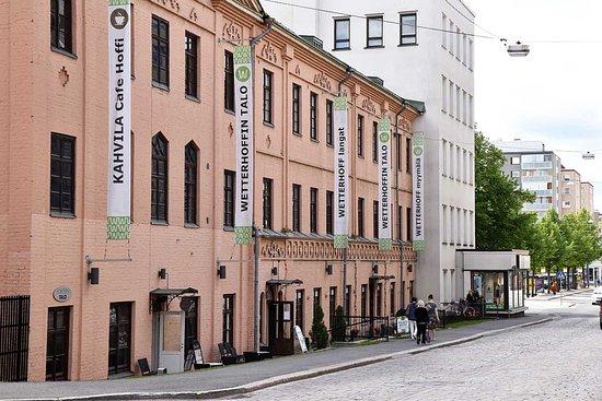 Haemeenlinna, Finland: Yli 130-vuotias Wetterhoffin talo sijaitsee Hämeenlinnan keskustassa.