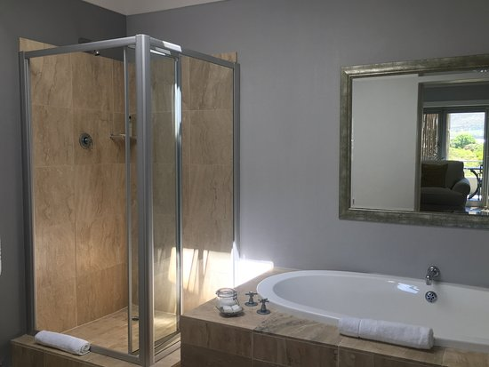 Pringle Bay, แอฟริกาใต้: Calypso bathroom