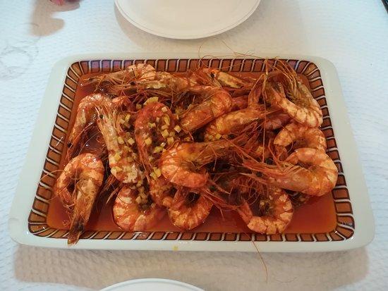 Корво, Португалия: Shrimps